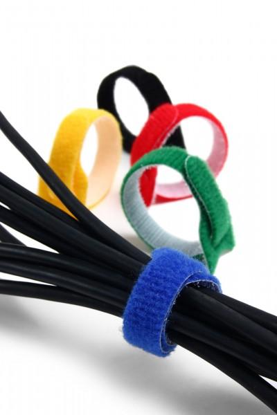Kabelbinder aus Klett